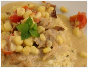 Creamed Corn Chicken-13
