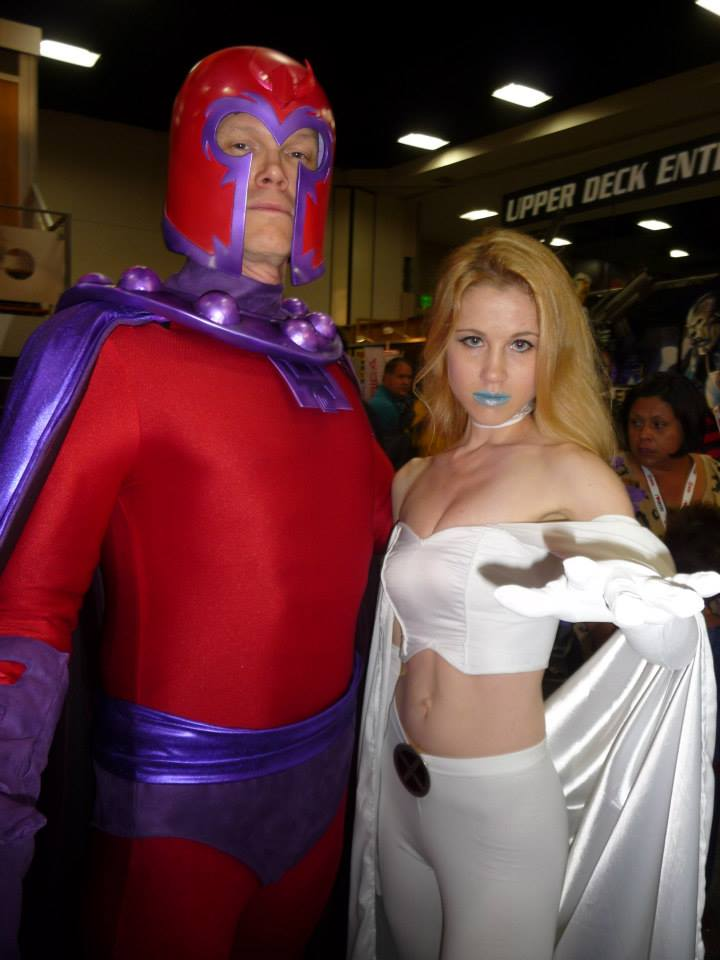 Emma with Magneto